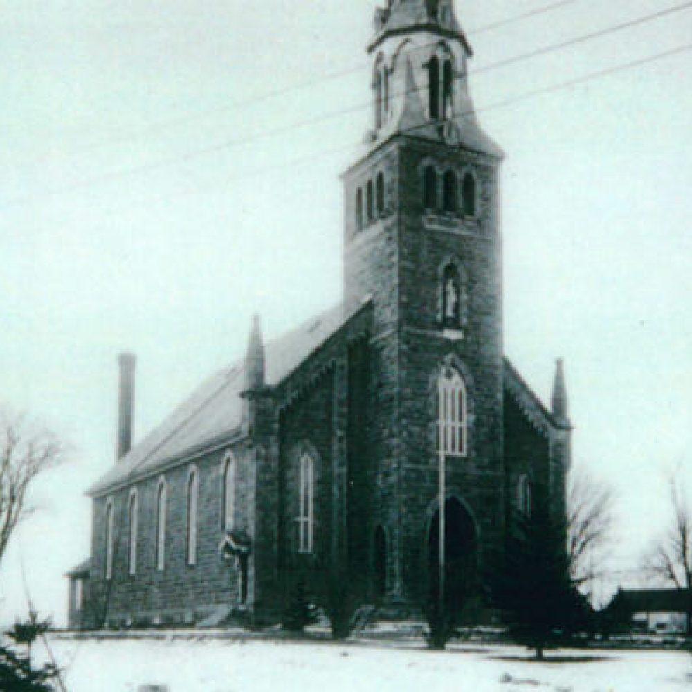 1876 – Construction de la troisième l'église