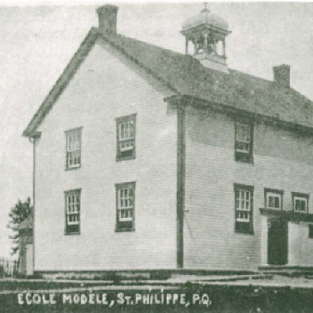 1900 – Les écoles de Saint-Philippe