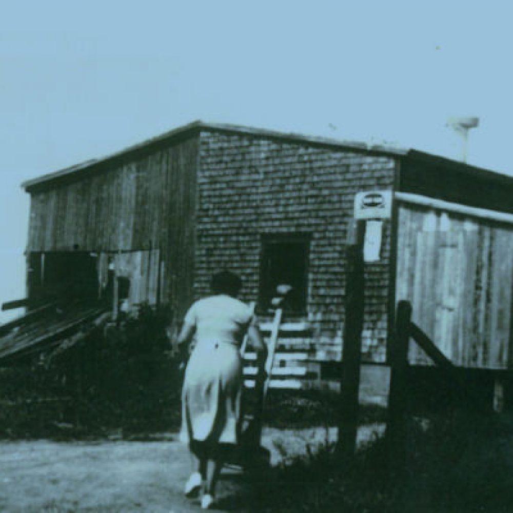 1914 – Construction du moulin à scie