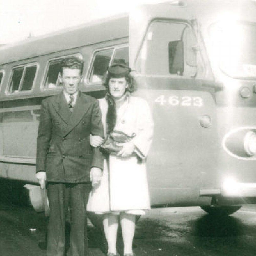 1940 – Arrivée du service d'autobus provincial
