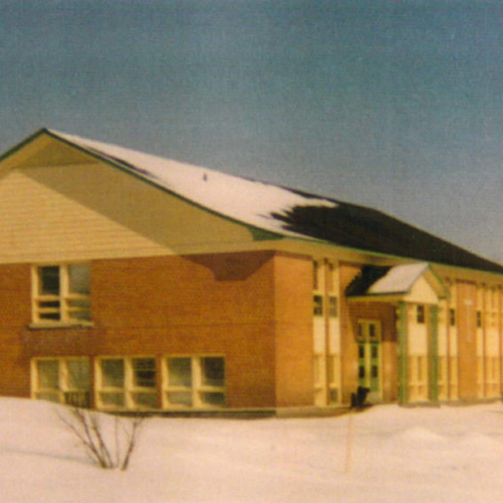 1959 – Construction de l'école