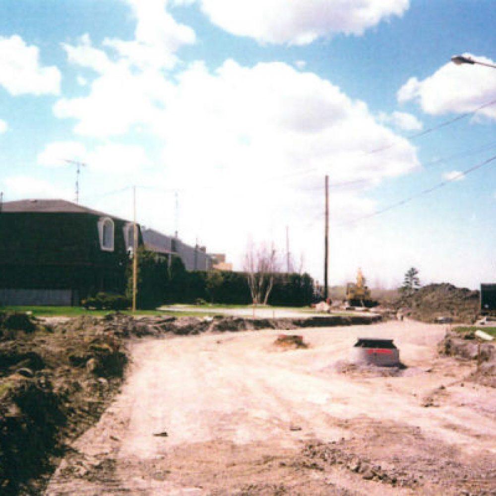 1994 – Arrivée du service d'égouts et d'aqueduc