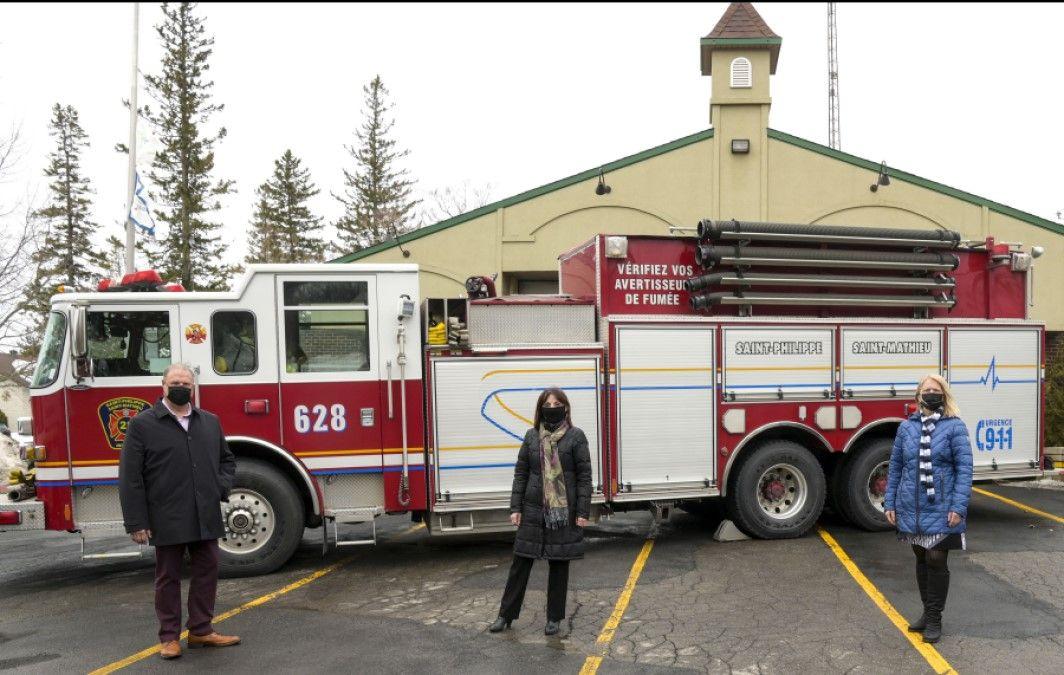 Renouvellement de l'entente du Service de sécurité incendie